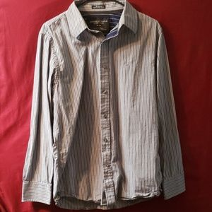 Mens American eagle button up